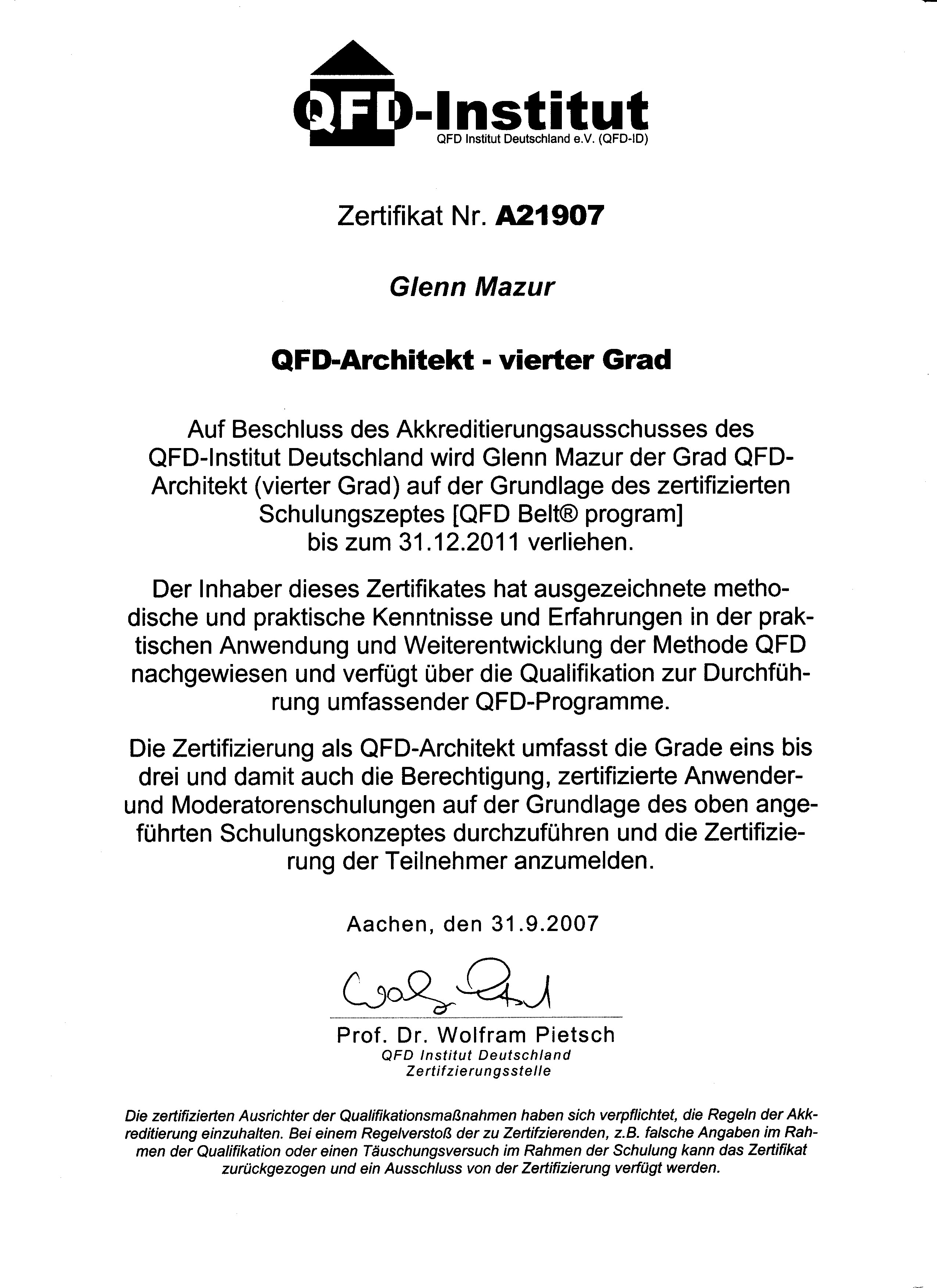 Nice Certificate Of Completion Schulung Gift - FORTSETZUNG ...